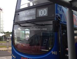 エジンバラのバス
