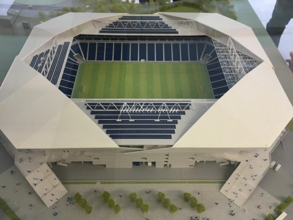 ガンバ大阪新スタジアム 模型