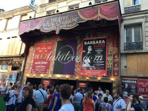 パリーシャンソンの劇場