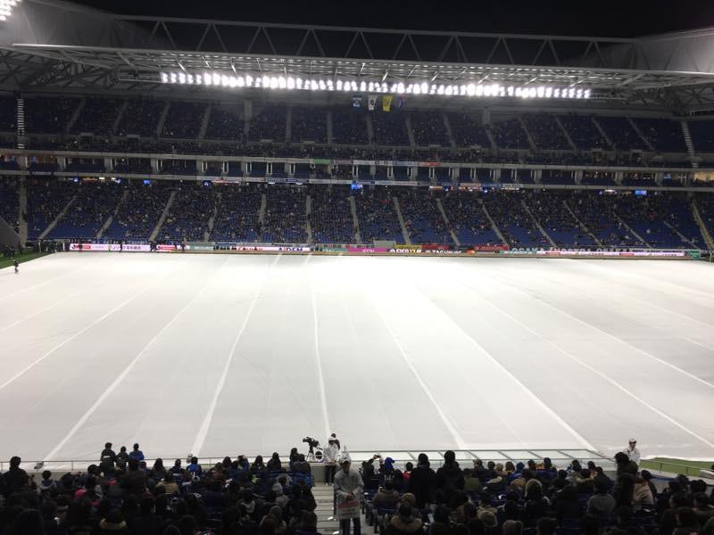 Jリーグ史上初ガンバ大阪フィールドでのプロジェクションマッピング