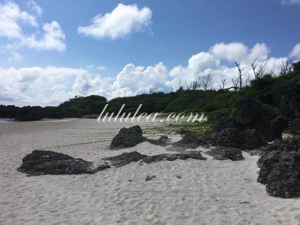 与論島寺崎海岸