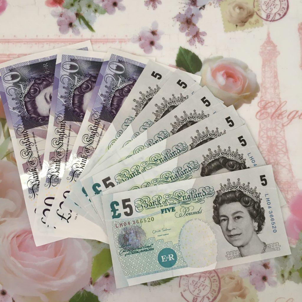 イギリス紙幣変更